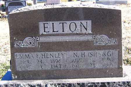 ELTON, EMMA F - Marion County, Arkansas | EMMA F ELTON - Arkansas Gravestone Photos