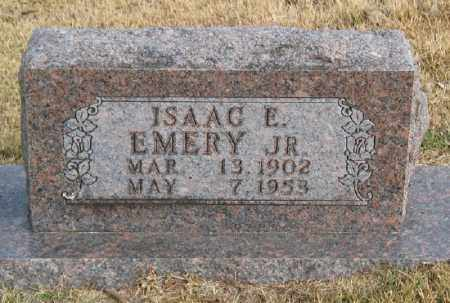 EMERY JR., ISAAC E. (CLOSE UP) - Marion County, Arkansas | ISAAC E. (CLOSE UP) EMERY JR. - Arkansas Gravestone Photos
