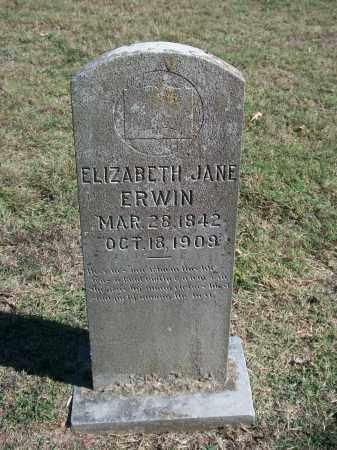ERWIN, ELIZABETH JANE - Marion County, Arkansas | ELIZABETH JANE ERWIN - Arkansas Gravestone Photos