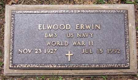 ERWIN (VETERAN WWII), ELWOOD - Marion County, Arkansas | ELWOOD ERWIN (VETERAN WWII) - Arkansas Gravestone Photos