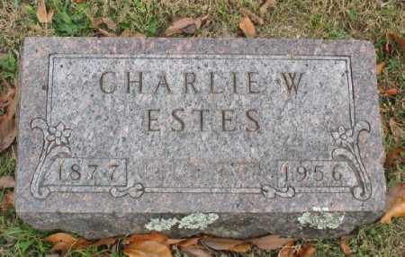 ESTES, CHARLIE W. - Marion County, Arkansas   CHARLIE W. ESTES - Arkansas Gravestone Photos
