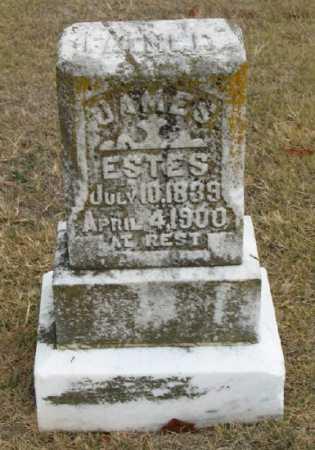 ESTES, JAMES  C. - Marion County, Arkansas   JAMES  C. ESTES - Arkansas Gravestone Photos