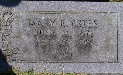 VANZANDT ESTES, MARY E. - Marion County, Arkansas | MARY E. VANZANDT ESTES - Arkansas Gravestone Photos