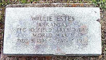 ESTES (VETERAN WWI), WILLIAM  JAMES - Marion County, Arkansas | WILLIAM  JAMES ESTES (VETERAN WWI) - Arkansas Gravestone Photos