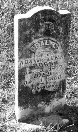 EVANS, OPAL L - Marion County, Arkansas | OPAL L EVANS - Arkansas Gravestone Photos