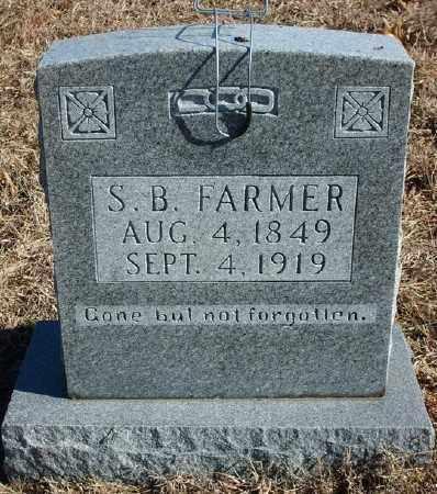 FARMER, S. B. - Marion County, Arkansas   S. B. FARMER - Arkansas Gravestone Photos