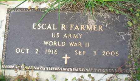 FARMER (VETERAN WWII), ESCAL R - Marion County, Arkansas | ESCAL R FARMER (VETERAN WWII) - Arkansas Gravestone Photos