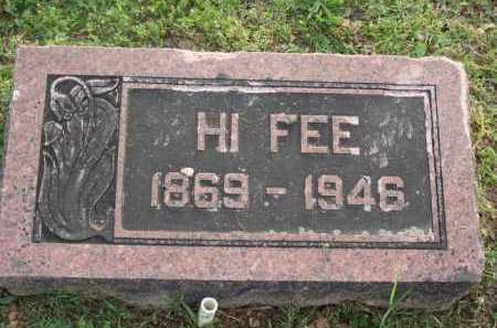 "FEE, HIRAM HENDERSON ""HI"" - Marion County, Arkansas | HIRAM HENDERSON ""HI"" FEE - Arkansas Gravestone Photos"