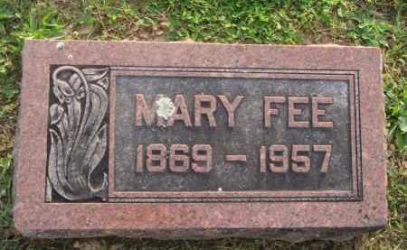 FEE, MARY - Marion County, Arkansas | MARY FEE - Arkansas Gravestone Photos