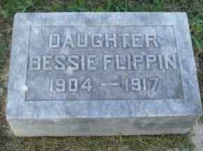 FLIPPIN, BESSIE - Marion County, Arkansas   BESSIE FLIPPIN - Arkansas Gravestone Photos