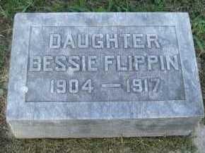 FLIPPIN, BESSIE - Marion County, Arkansas | BESSIE FLIPPIN - Arkansas Gravestone Photos