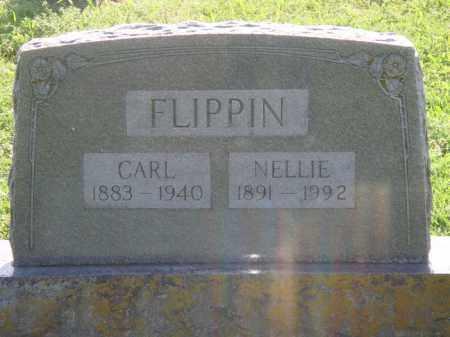 FLIPPIN, CARL - Marion County, Arkansas | CARL FLIPPIN - Arkansas Gravestone Photos