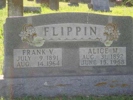 FLIPPIN, ALICE M. - Marion County, Arkansas | ALICE M. FLIPPIN - Arkansas Gravestone Photos