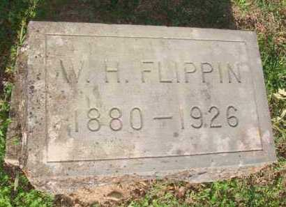 FLIPPIN, W. H. - Marion County, Arkansas | W. H. FLIPPIN - Arkansas Gravestone Photos