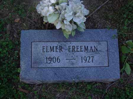 FREEMAN, ELMER - Marion County, Arkansas | ELMER FREEMAN - Arkansas Gravestone Photos
