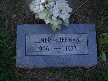 FREEMAN, ELMER - Marion County, Arkansas | ELMER FREEMAN - Arkansas Gravestone Photos
