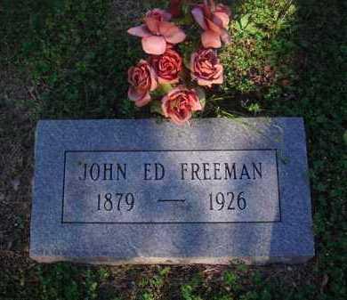 FREEMAN, JOHN ED - Marion County, Arkansas   JOHN ED FREEMAN - Arkansas Gravestone Photos
