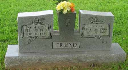 FRIEND, ED ALVIE - Marion County, Arkansas | ED ALVIE FRIEND - Arkansas Gravestone Photos