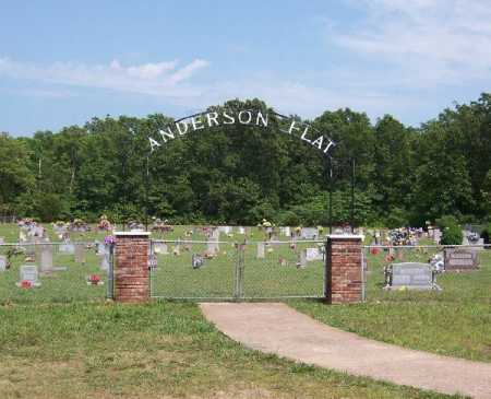 *ANDERSON FLAT CEMETERY GATE,  - Marion County, Arkansas |  *ANDERSON FLAT CEMETERY GATE - Arkansas Gravestone Photos