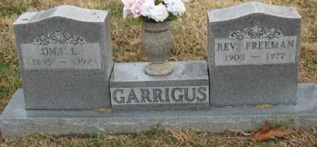 GARRIGUS, OMA L. - Marion County, Arkansas | OMA L. GARRIGUS - Arkansas Gravestone Photos