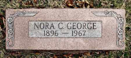 GEORGE, NORA C. - Marion County, Arkansas | NORA C. GEORGE - Arkansas Gravestone Photos
