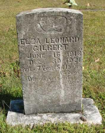 GILBERT, ELZA LEONARD - Marion County, Arkansas | ELZA LEONARD GILBERT - Arkansas Gravestone Photos