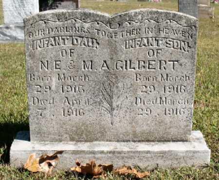 GILBERT, INFANT DAUGHTER - Marion County, Arkansas   INFANT DAUGHTER GILBERT - Arkansas Gravestone Photos