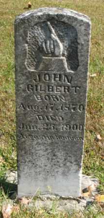 GILBERT, JOHN - Marion County, Arkansas | JOHN GILBERT - Arkansas Gravestone Photos