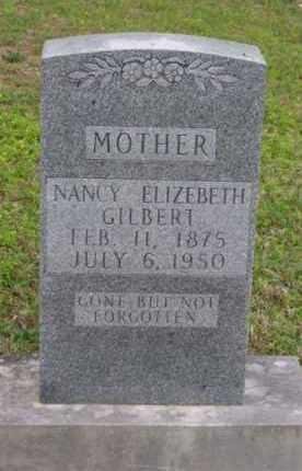 "BRYANT GILBERT, NANCY ELIZABETH ""SIS"" - Marion County, Arkansas | NANCY ELIZABETH ""SIS"" BRYANT GILBERT - Arkansas Gravestone Photos"