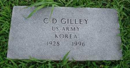 GILLEY  (VETERAN KOR), C. D. - Marion County, Arkansas   C. D. GILLEY  (VETERAN KOR) - Arkansas Gravestone Photos