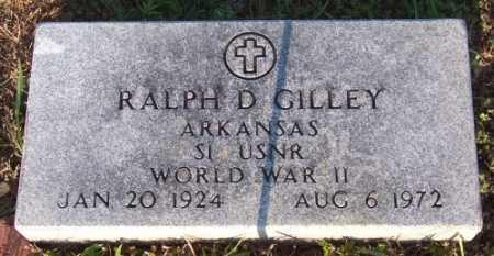 GILLEY (VETERAN WWII), RALPH D - Marion County, Arkansas   RALPH D GILLEY (VETERAN WWII) - Arkansas Gravestone Photos