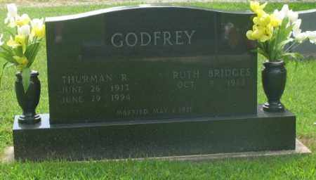 GODFREY, THURMAN R. - Marion County, Arkansas | THURMAN R. GODFREY - Arkansas Gravestone Photos