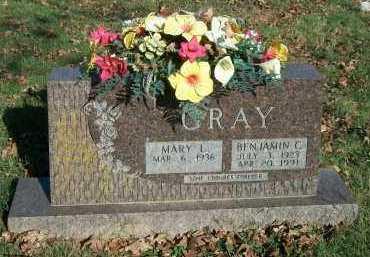 GRAY, BENJAMIN C. - Marion County, Arkansas | BENJAMIN C. GRAY - Arkansas Gravestone Photos