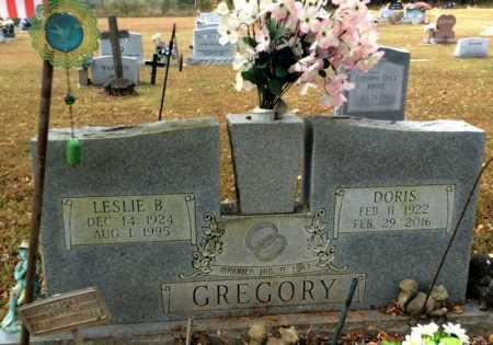 GREGORY, LESLIE B. - Marion County, Arkansas | LESLIE B. GREGORY - Arkansas Gravestone Photos
