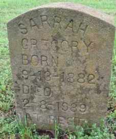 GREGORY, SARRAH E. - Marion County, Arkansas | SARRAH E. GREGORY - Arkansas Gravestone Photos