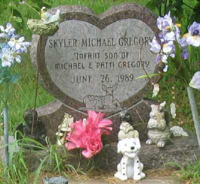 GREGORY, SKYLER MICHAEL - Marion County, Arkansas | SKYLER MICHAEL GREGORY - Arkansas Gravestone Photos