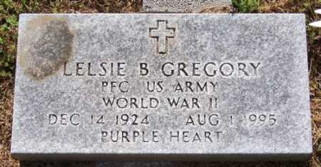 GREGORY (VETERAN WWII), LESLIE B. - Marion County, Arkansas | LESLIE B. GREGORY (VETERAN WWII) - Arkansas Gravestone Photos