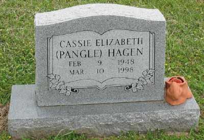 PANGLE HAGEN, CASSIE ELIZABETH - Marion County, Arkansas | CASSIE ELIZABETH PANGLE HAGEN - Arkansas Gravestone Photos