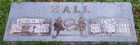 SMITH HALL, EDITH V. - Marion County, Arkansas | EDITH V. SMITH HALL - Arkansas Gravestone Photos