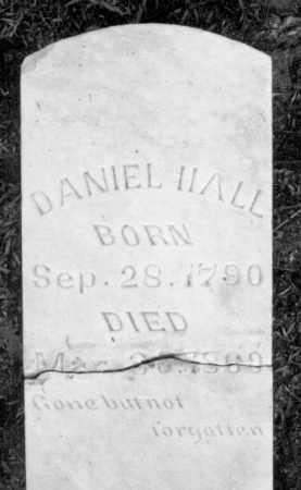 HALL (VETERAN 1812), DANIEL WEBSTER - Marion County, Arkansas | DANIEL WEBSTER HALL (VETERAN 1812) - Arkansas Gravestone Photos