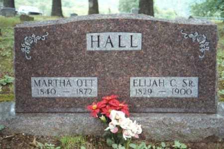 HALL, MARTHA ELLEN - Marion County, Arkansas | MARTHA ELLEN HALL - Arkansas Gravestone Photos