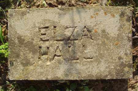 HALL, ELZA - Marion County, Arkansas   ELZA HALL - Arkansas Gravestone Photos