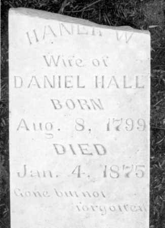 TREAT HALL, HANNAH - Marion County, Arkansas   HANNAH TREAT HALL - Arkansas Gravestone Photos