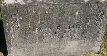HALL, JAMES W. - Marion County, Arkansas   JAMES W. HALL - Arkansas Gravestone Photos