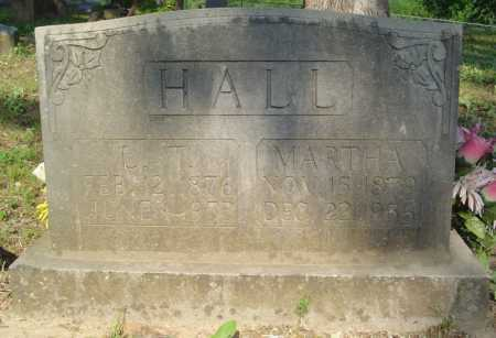HALL, MARTHA - Marion County, Arkansas | MARTHA HALL - Arkansas Gravestone Photos
