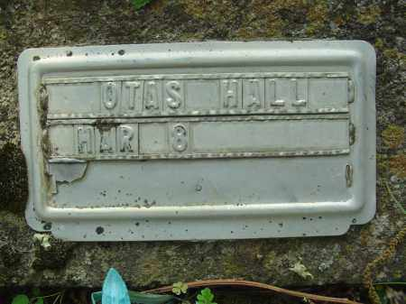 HALL, OTAS - Marion County, Arkansas | OTAS HALL - Arkansas Gravestone Photos