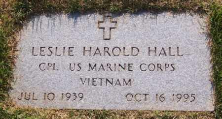 HALL (VETERAN VIET), LESLIE HAROLD - Marion County, Arkansas | LESLIE HAROLD HALL (VETERAN VIET) - Arkansas Gravestone Photos