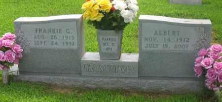 HAMPTON, FRANKIE G. - Marion County, Arkansas | FRANKIE G. HAMPTON - Arkansas Gravestone Photos
