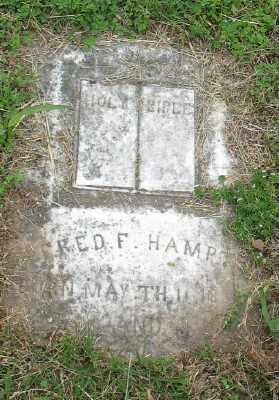 HAMPTON, FRED F. - Marion County, Arkansas | FRED F. HAMPTON - Arkansas Gravestone Photos