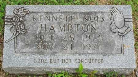 HAMPTON, KENNETH NOIS - Marion County, Arkansas | KENNETH NOIS HAMPTON - Arkansas Gravestone Photos